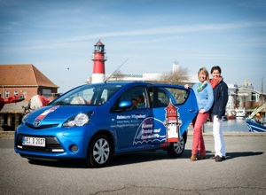 Unsere kleinen blauen Autos