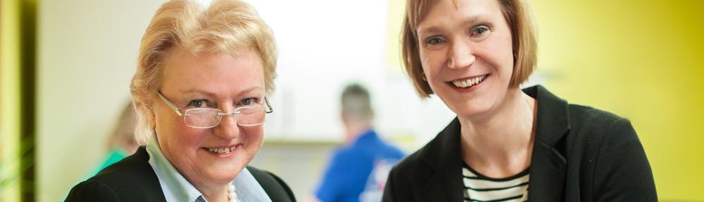Pflegedienst Büsum: Siglinde Hilberling und Martina Vagt geb. Hilberling